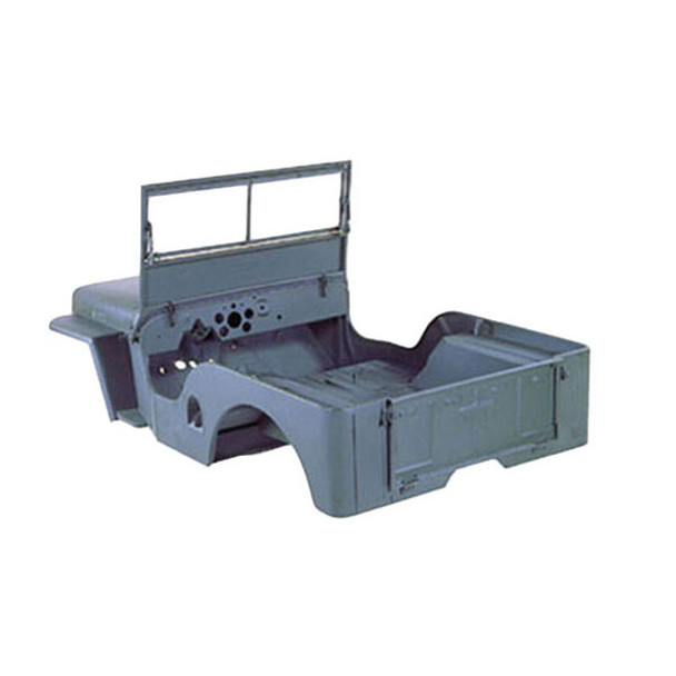 Omix-Ada, 12001.07 - Steel Body Kit, 46-49 Willys CJ2A