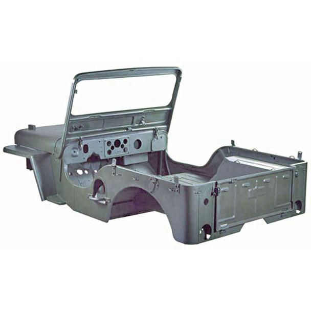 Omix-Ada, 12001.05 - Steel Body Kit, 50-52 Willys M38s