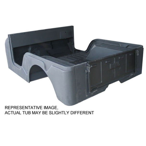 Omix-Ada, 12002.11 - Reproduction Steel Body Tub, 72-75 Jeep CJ5