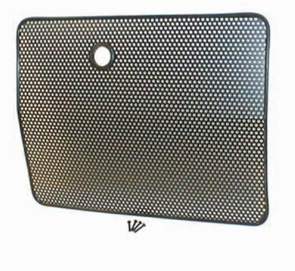Rugged Ridge, 11213.01 - Radiator Bug Shield, Black, 87-95 Jeep Wrangler (YJ)