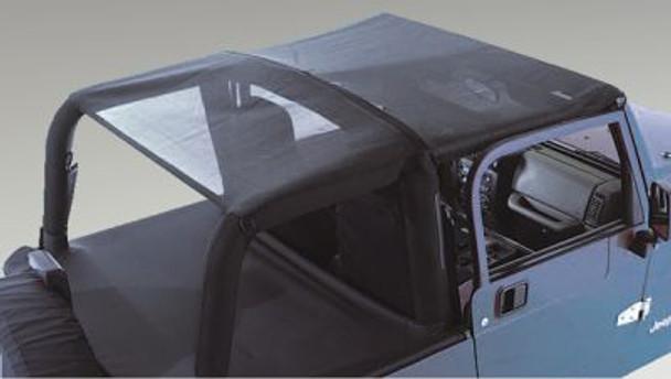 Rugged Ridge, 13577.01 - Mesh Roll Bar Top, 92-95 Jeep Wrangler (YJ)