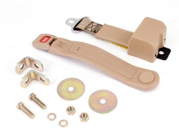 Omix-Ada, 13202.21 - Lap Seat Belt, Tan, 87-95 Jeep Wrangler (YJ) (13202.21)