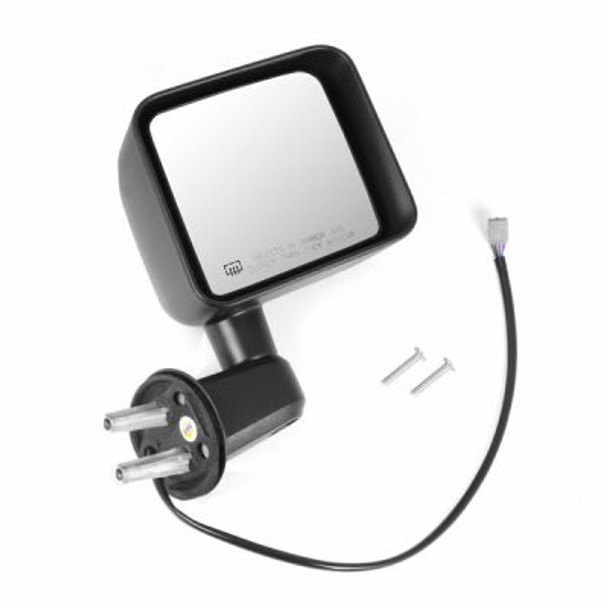 Omix-Ada, 11002.24 - Heated Power Mirror, Right, Black, 11-14 Jeep Wrangler (JK)