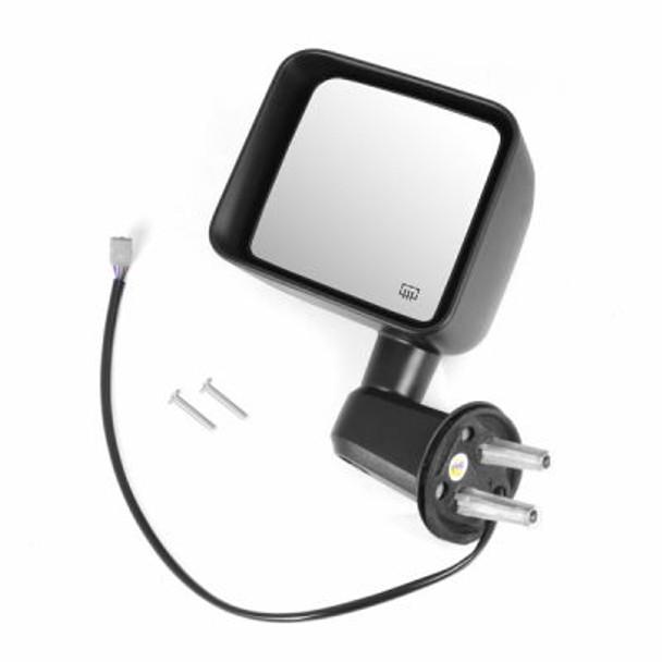 Omix-Ada, 11002.25 - Heated Power Mirror, Left, Black, 11-14 Jeep Wrangler (JK)