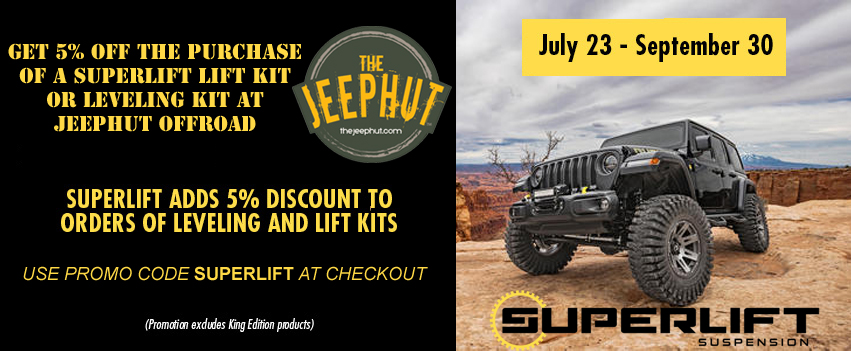 JeepHut - Jeep parts and accessories Headquaters forJeep