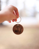 Personalized Leather Key chain