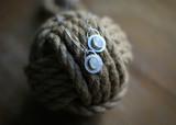 Over the Moon, rainbow moonstone pendants