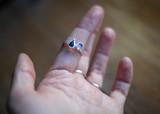Custom Tourmaline Stacking Ring