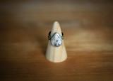 Custom white buffalo ring or pendant