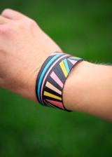 Ray Leather Cuff Bracelet Multi-Color