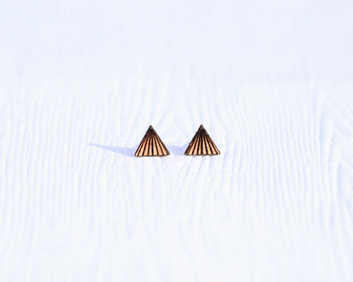 Leather pyramid studs