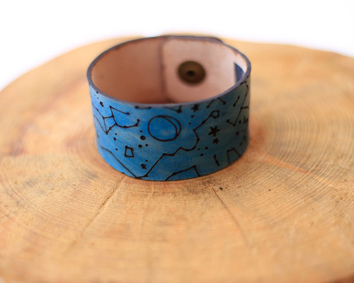 Blue Star Collection cuff bracelet