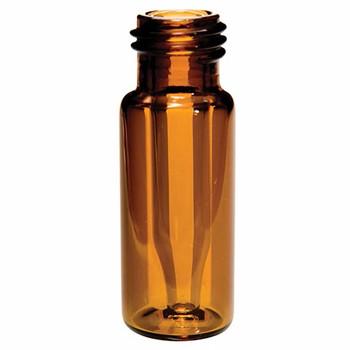 Ibis Scientific 9mm (300µL) Amber Screw Top Fused Insert Vial, 100-pk