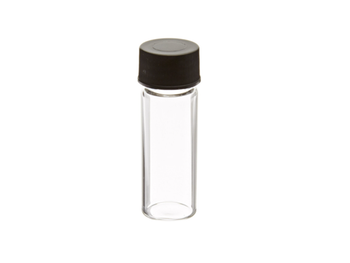 4mL Borosilicate Glass  Vial with Solid Top Cap and PTFE/F217 liner, 100-pk