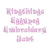 Amazing Easter Font - Kingthings Eggypeg Machine Embroidery Font - Now Includes BX Format!