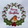 Christmas Robin #05 Machine Embroidery Design