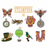 Steampunk 2 Collection of 10 Machine Embroidery Designs