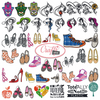 4x4 Hoop Fashion Special - 121 Fashion & Trends Machine Embroidery Designs!