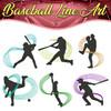 Baseball Line Art Full Collection