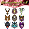 Detailed Animal Faces B Full Collection