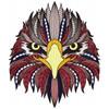 Detailed Eagle Face B