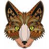 Detailed Fox Face B