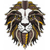 Detailed Lion Face B