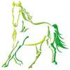 Silhouette Horse #03