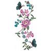 Flower Garden And Butterflies #05