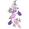 Flower Garden And Butterflies #03