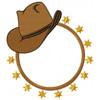 Cowgirl Monogram #01