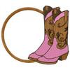 Cowgirl Monogram #02