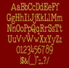 Type It Font - Typewriter Machine Embroidery Font Now Includes BX Format!