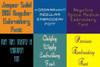 20 BX Fonts - Font Bundle 3 - 20 Embrilliance Machine Embroidery Fonts