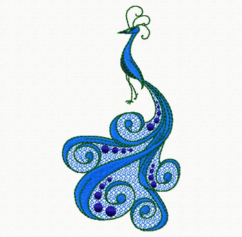Ornamental Peacock