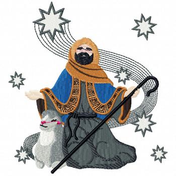 Three Kings 2 - Religious Christmas #05 Machine Embroidery Design