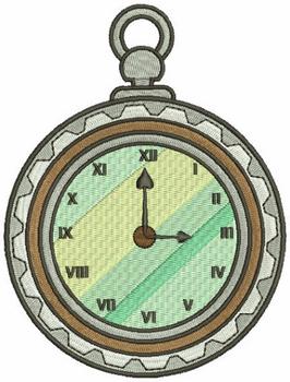 Steampunk Timepiece 05 - Machine Embroidery Design - Steampunk Collection #21