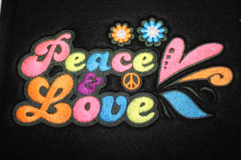 Psychedelic 60's Collection of 12 Machine Embroidery Designs