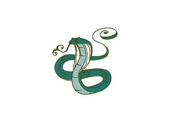 Cobra Machine Embroidery Design