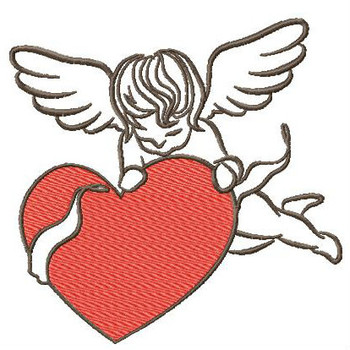 Cupid Collection #03 - Machine Embroidery Design