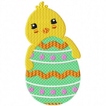 Easter Chick Collection #08 Machine Embroidery Design