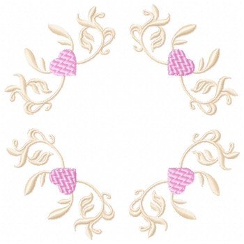 Wedding Boarders Collection #01 Machine Embroidery Design