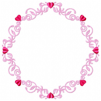 Wedding Boarders Collection #02 Machine Embroidery Design