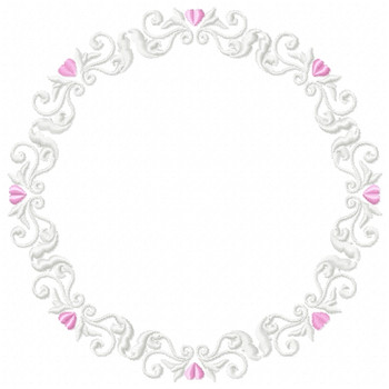 Wedding Boarders Collection #04 Machine Embroidery Design