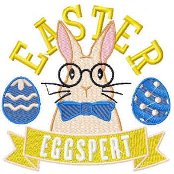 Easter Eggspert - Easter Egg Collection #01 Machine Embroidery Design