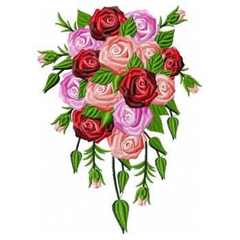 Cascade Deluxe Wedding Bouquet