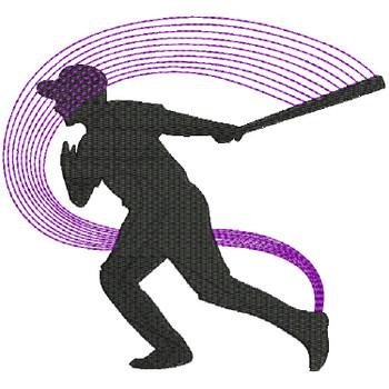 Baseball Line Art #06