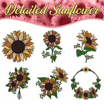 Detailed Sunflower Full Collection