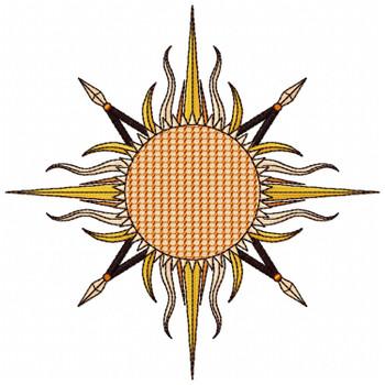 Detailed Sun #02-B
