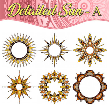 Detailed Sun Full Collection - A